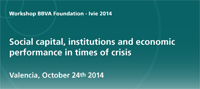 Social capital, institutions and economic performance in times of crisis